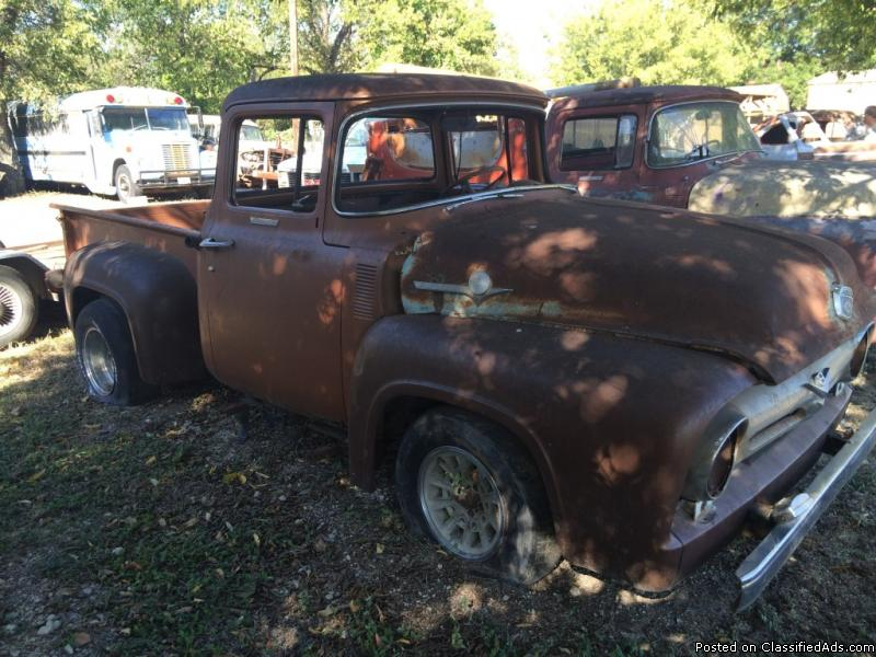 1956 Ford F100 For Sale Cheap - 4