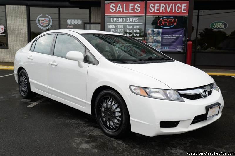 2010 Honda Civic 'LX' Sedan! LOW FINANCING! Cruise! 83K Miles! 9253