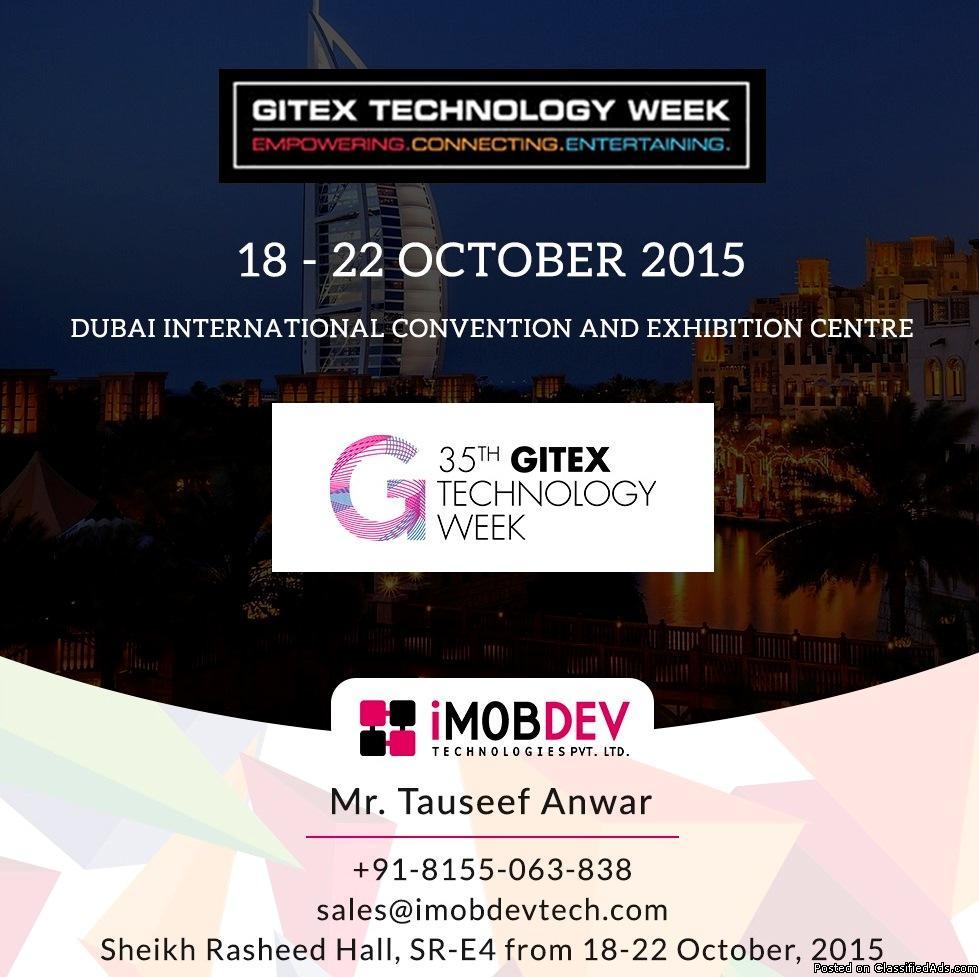 iMOBDEV reveals its involvement @ GITEX Dubai 2015