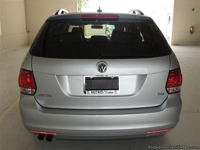 2012 Volkswagen Jetta TDI Silver Wagon I4