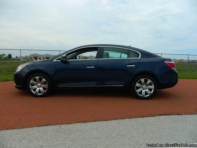 2011 Buick Lacrosse CXL Blue Sedan V6
