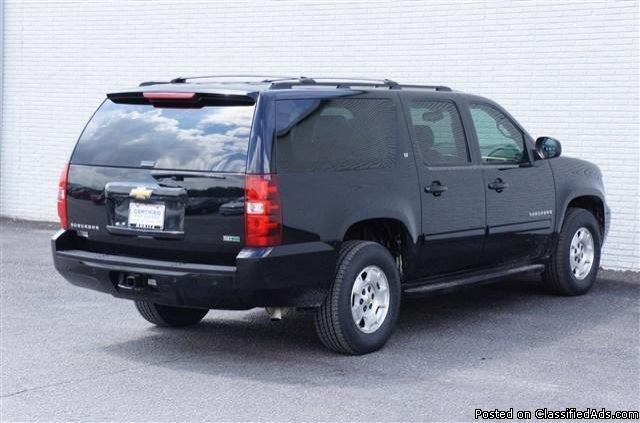 2011 Chevrolet Suburban C1500 Lt Black SUV V8