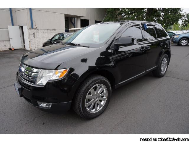 2007 Ford Edge Sel Plus Black SUV V6
