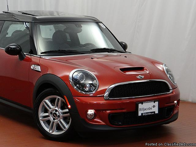 2013 Mini Cooper S Clubman Spice Orange Metallic Wagon I4