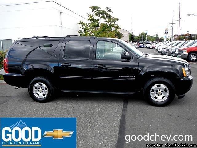 2013 Chevrolet Suburban K1500 Lt Black SUV V8