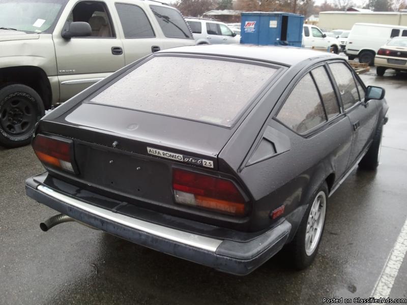1983 ALFA ROMEO GTV6 ... RARE CLASSIC