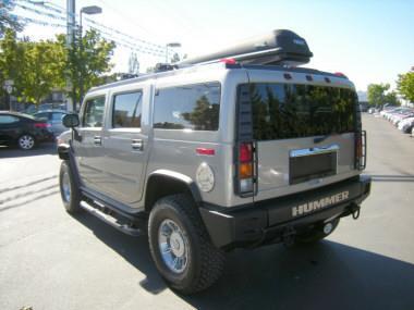 2003 Hummer H2 Silver SUV V8