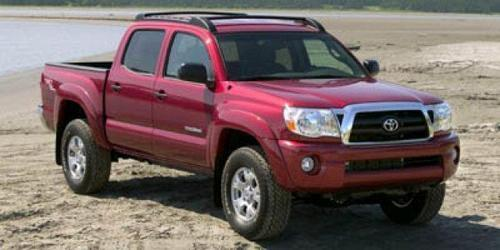 2006 Toyota Tacoma Double Cab Prerunner Blue Truck V6