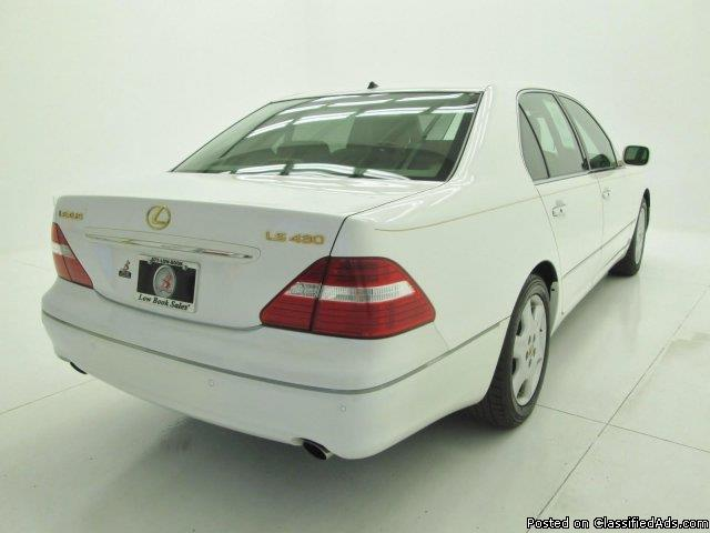 2004 Lexus LS 430 Base Crystal White Sedan V8
