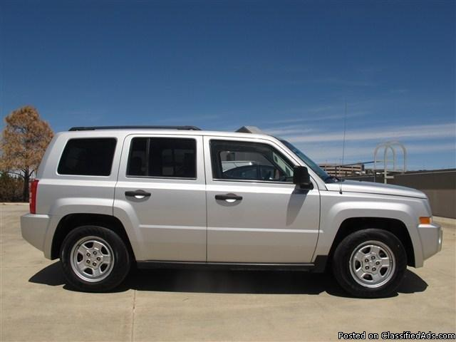 2008 jeep patriot sport bright silver metallic suv i4. Black Bedroom Furniture Sets. Home Design Ideas